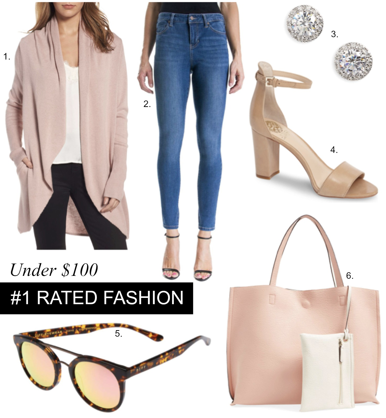 Nordstrom's Top Rated Fashion Under $100