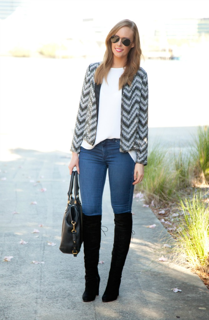 best fall boots for every budget stuart weitzman over the knee black boots fashion blogger outfit ideas