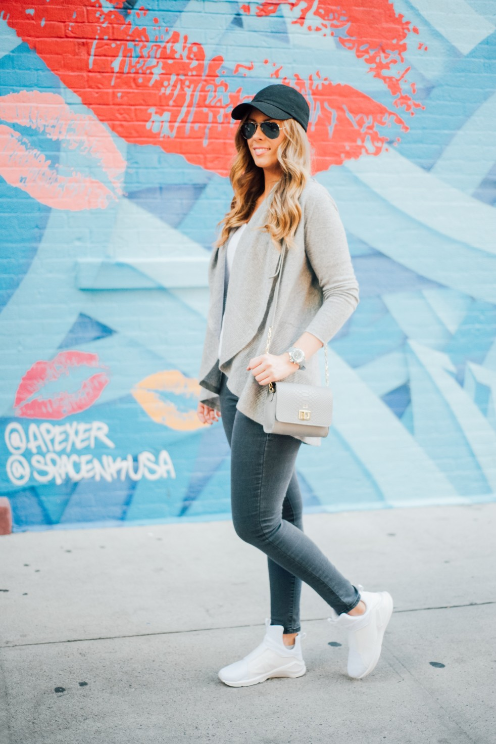 Groutfit all grey outfit ideas new york blogger
