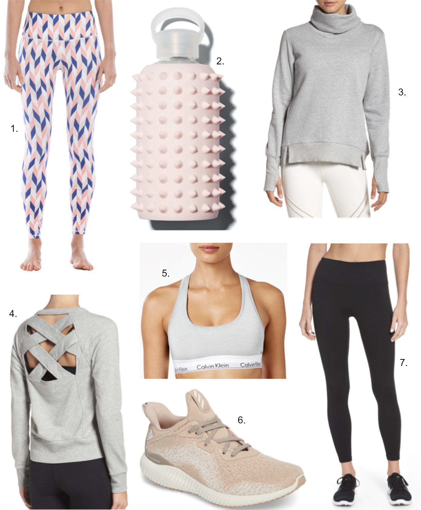 Cute Activewear BKR Spike water bottle best workout clothes zella live in leggings shop athleisure