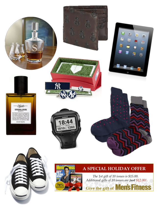 Christmas Gift Guide - Handsome Hunks | Style Elixir