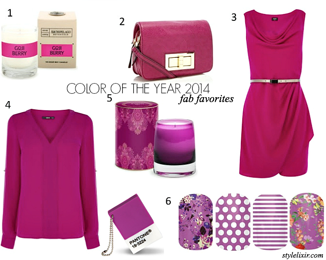 FFF Patone Color 2014 - Radiant Orchid
