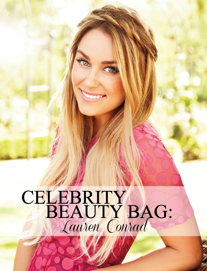 Celebrity Beauty Makeup Bag Lauren Conrad