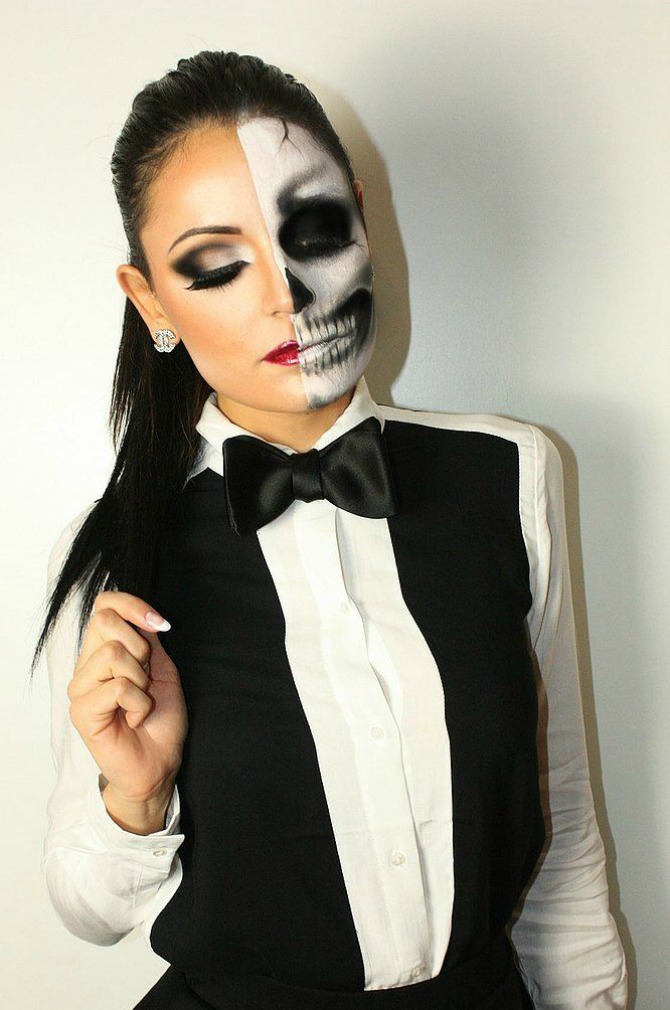 Best Halloween Makeup Ideas Zombie Scary