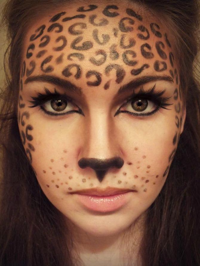 Best Halloween Makeup Ideas Leopard
