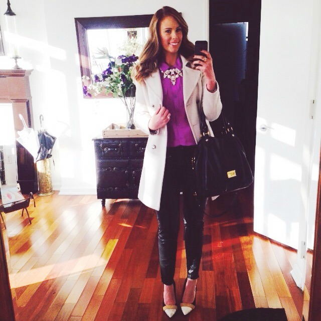 Style Elixir fashion blogger outfit winter outfit ideas new york street style
