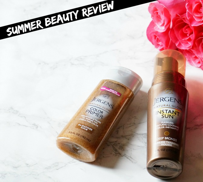 Summer Beauty Jergens Natural Glow Tan Extender Review