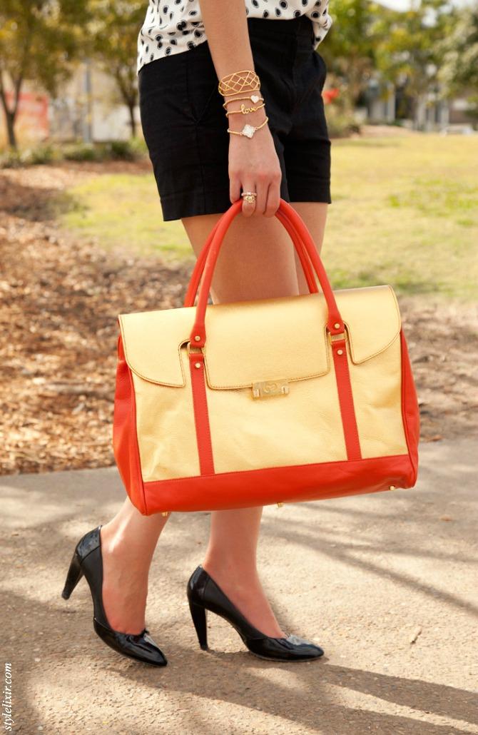 Gold Luxury Handbag Sale