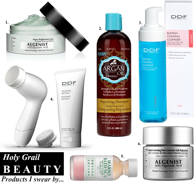 Holy Grail beauty products i swear by ddf cleanser acne treatment sulfate free shampoo giuliana rancic cleanser