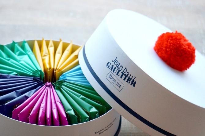 Kusmi Tea Jean Paul Gaultier Tea Box Set detox tea french tea