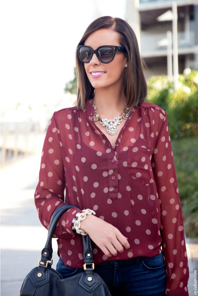 how to mix prints polka dots and leopard style elixir lauren slade fashion trends new york fashion blogger