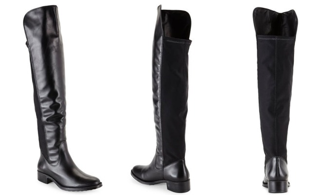 Andre Assous Black Over The Knee Boots on sale OTK boot