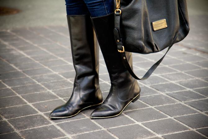 The Best black knee high boots fashion blogger new york style lauren slade style elixir blog