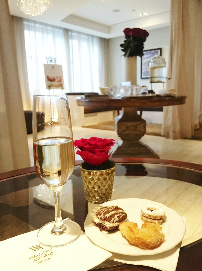 champagne Guerlain Spa Waldorf Astoria New York review massage