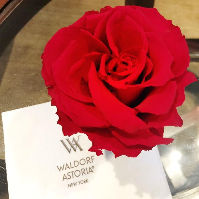 rose Guerlain Spa Waldorf Astoria New York review massage