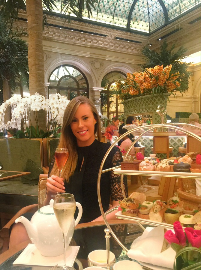 the plaza hotel champagne afternoon tea lauren slade travel blogger fashion blog luxury hotels review