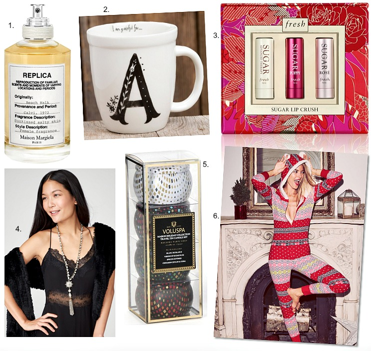 christmas-gift-guide-ideas-victorias-secret-onesie-pajamas-maison-margiela-replica-beach-walk-review