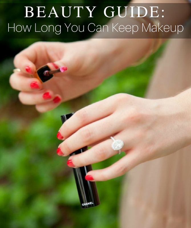 How Long Can You Keep Makeup beauty tips chanel oval engagement ring beauty blogger