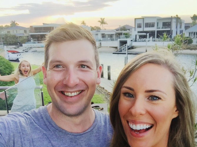 new years eve beach house vacation squad engagement