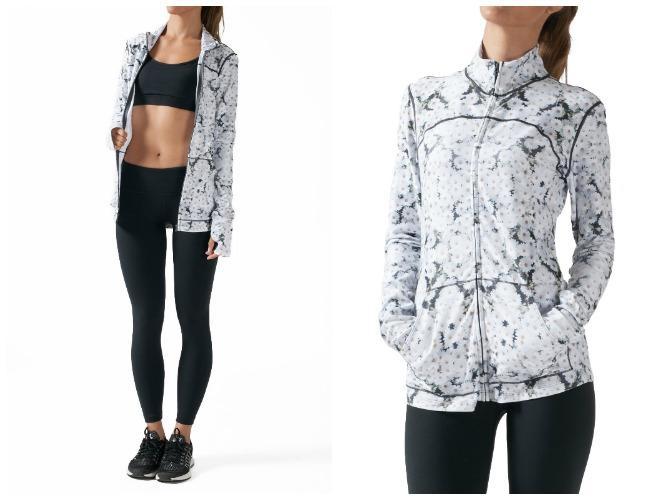 Yoga Jacket Music Zipper Wear it to Heart Yoga