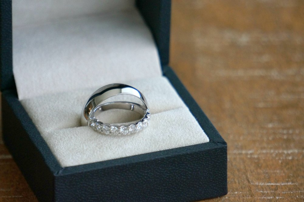 blue nile mens platinum wedding band review 2