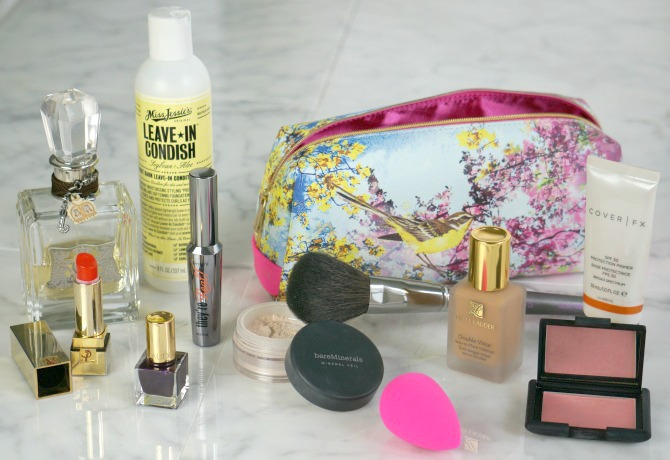 inside my makeup bag beauty product favorites