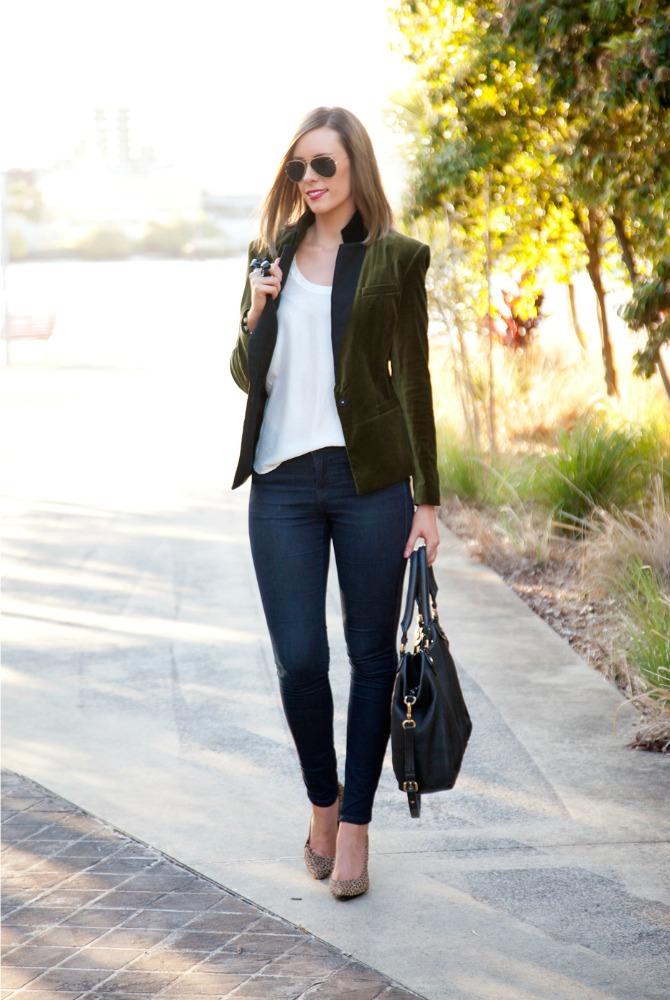 Suede Blazer How to wear a blazer