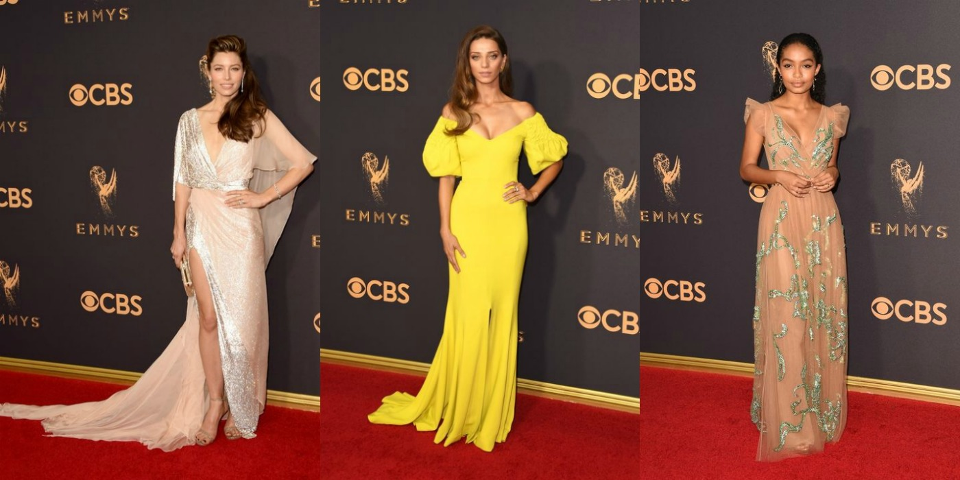 Emmy Awards 2017 best dressed fashion outfits