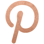 Pinterest rose gold icon style elixir blog design