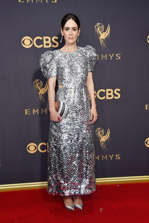 Sarah Paulson in Carolina Herrera Emmy Awards 2017 best dressed