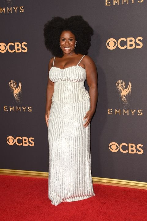 Uzo Aduba in Sally LaPointe Emmy Awards 2017 best dressed