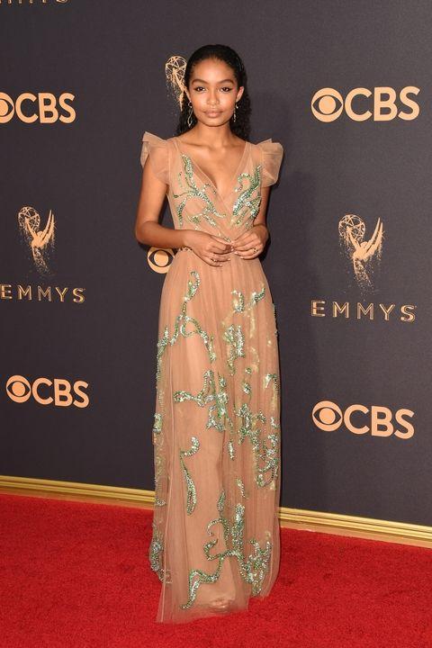 Yara Shahidi in Prada Emmy Awards 2017 best dressed