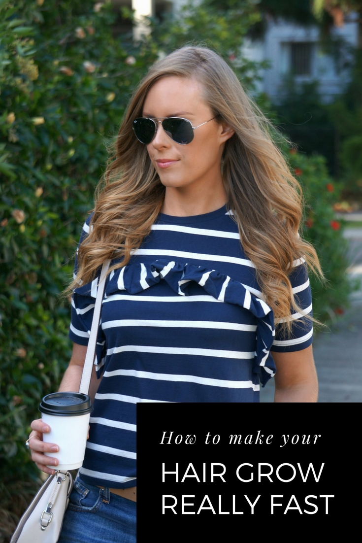 How To Make Your Hair Grow Fast fashion beauty blogger tips