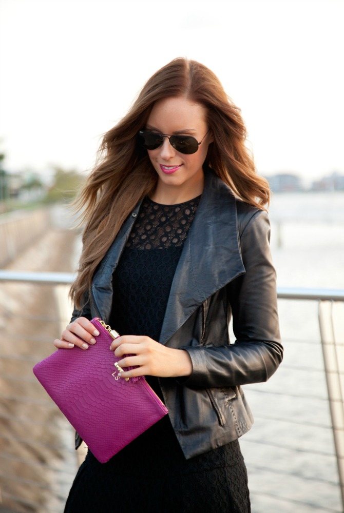 cool girl leather jackets outfit ideas vince black leather jacket