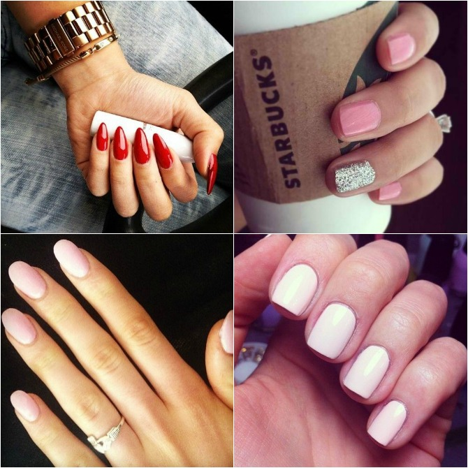 Manicure How To - Nail Shape Trends