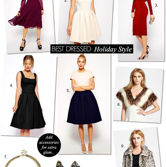 Best Dressed – Your Holiday Season Style Guide