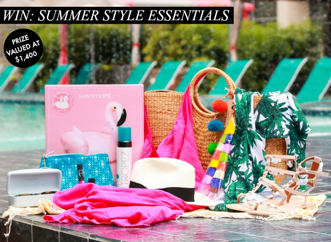 $1,400 Summer Giveaway – Includes Karen Walker Sunglasses!