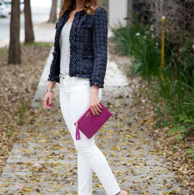 Fab Favorites Link Up: My Tweed Blazer + Win a $120 SheIn Gift Card