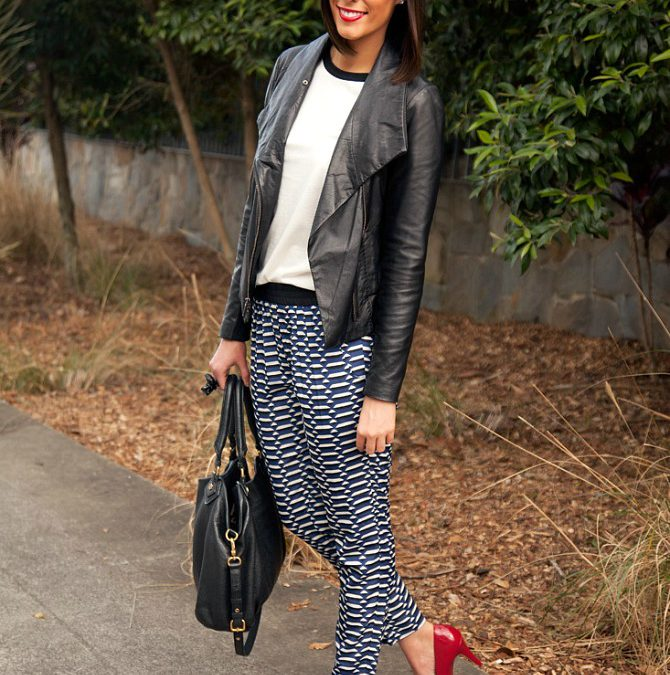 Style Sessions Fashion Link Up – How To Wear Print Pants