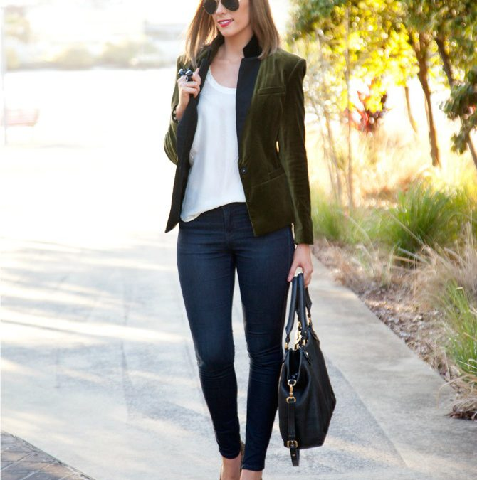 Style Sessions – How To Wear A Velvet Blazer