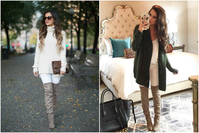 Mia Mia Mine and The Sweetest Thing Steve Madden Over the Knee Boots