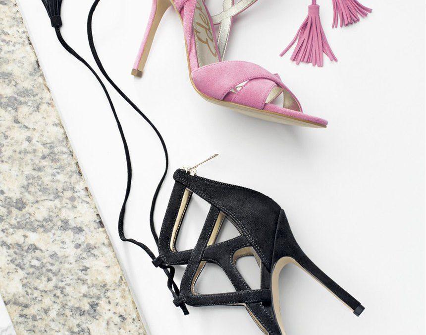 40671314d Sam Edelman Azela Tassel Lace Up Sandals