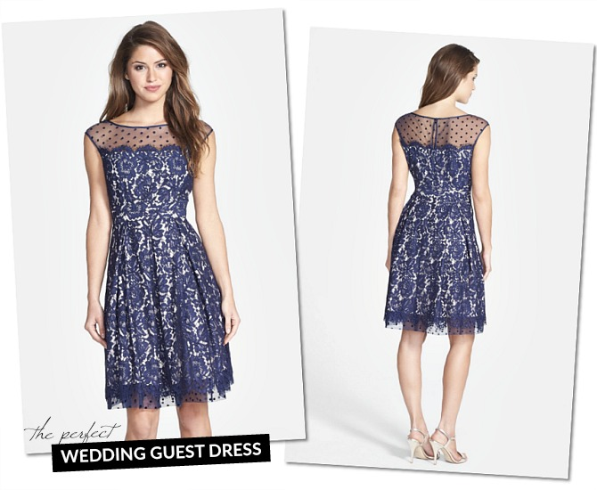 The perfect outfit for wedding guests one dress two ways for Spring wedding dress guest