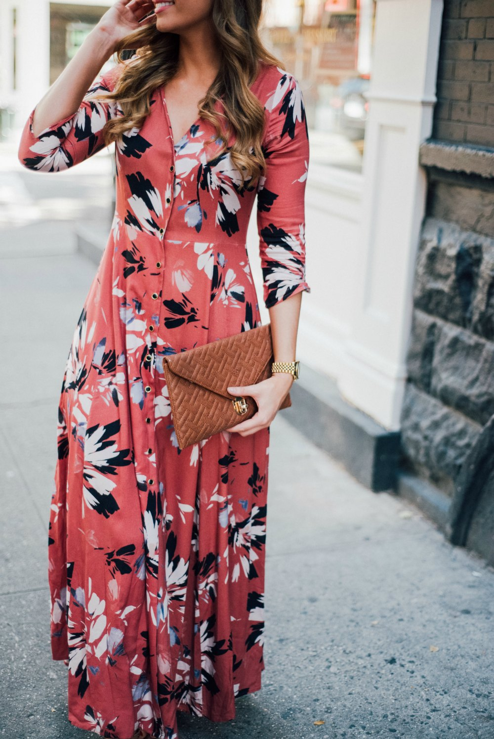 yumi kim maxi dress new york spring outfit soho lauren slade style elixir fashion blog 5 | Summer Floral Maxi Dress in Soho featured by popular US blogger Style Elixir
