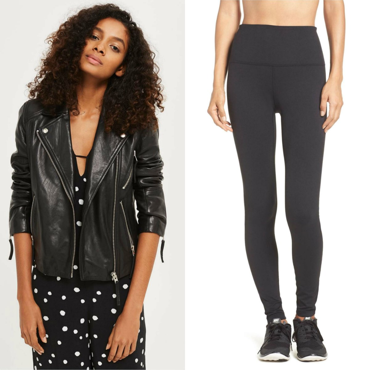 Nordstrom Anniversary Sale Best Buys Fashion Beauty Shoes zella leggings and sale leather jacket