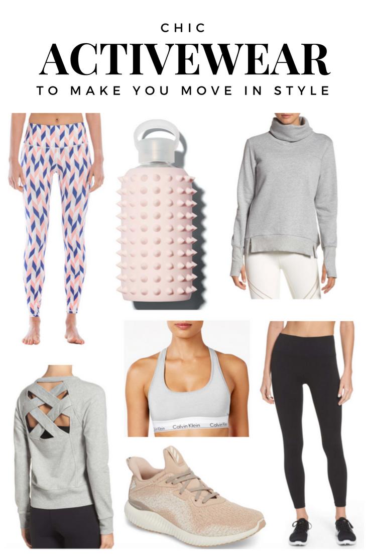 Cute Activewear BKR Spike water bottle best workout clothes zella live in leggings athleisure