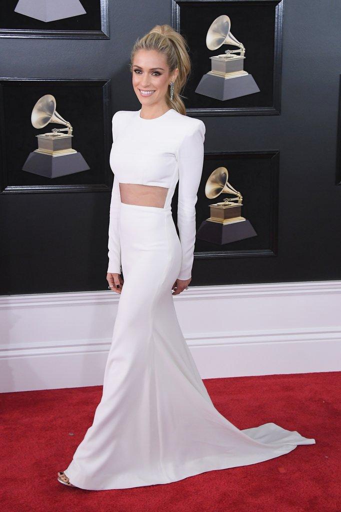 Kristin-Cavallari Grammy Awards Red Carpet Fashion 2018