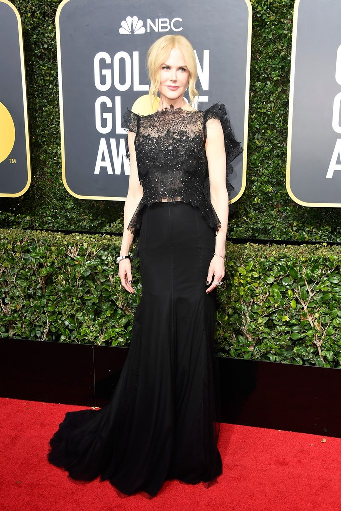 Nicole-Kidman golden globes fashion 2018 hollywood blackout best dressed