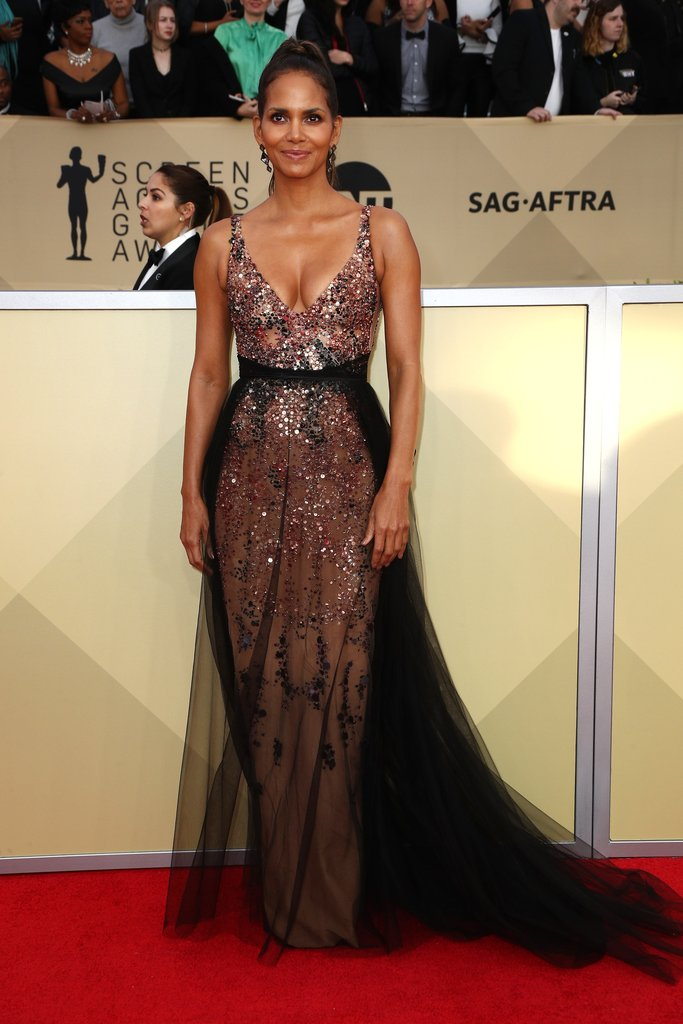 SAG Awards red carpet fashion 2018 Halle-Berry