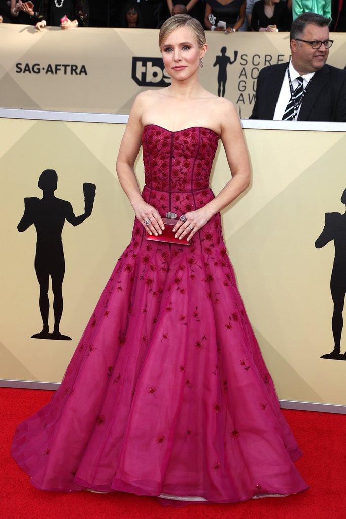 SAG Awards red carpet fashion 2018 Kristen-Bell